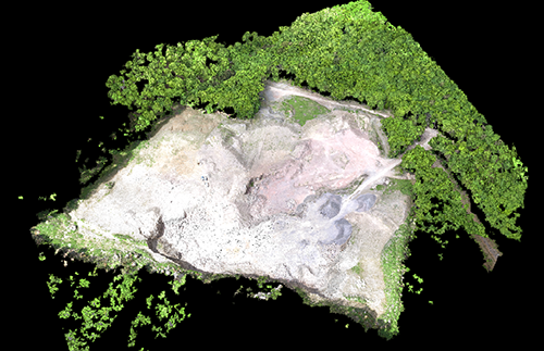 Pix4D point cloud