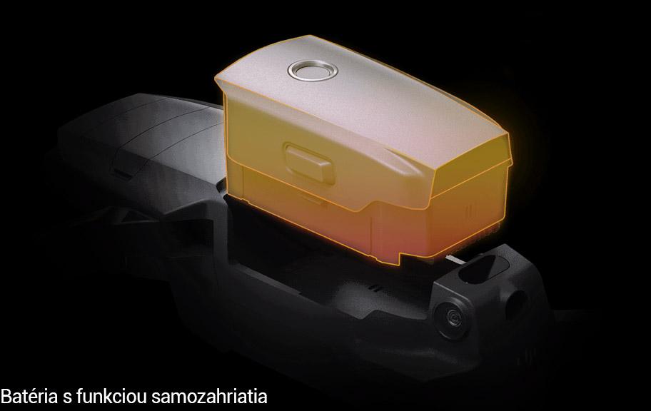 Samozahriatie batérie Mavic 2 Enterprise