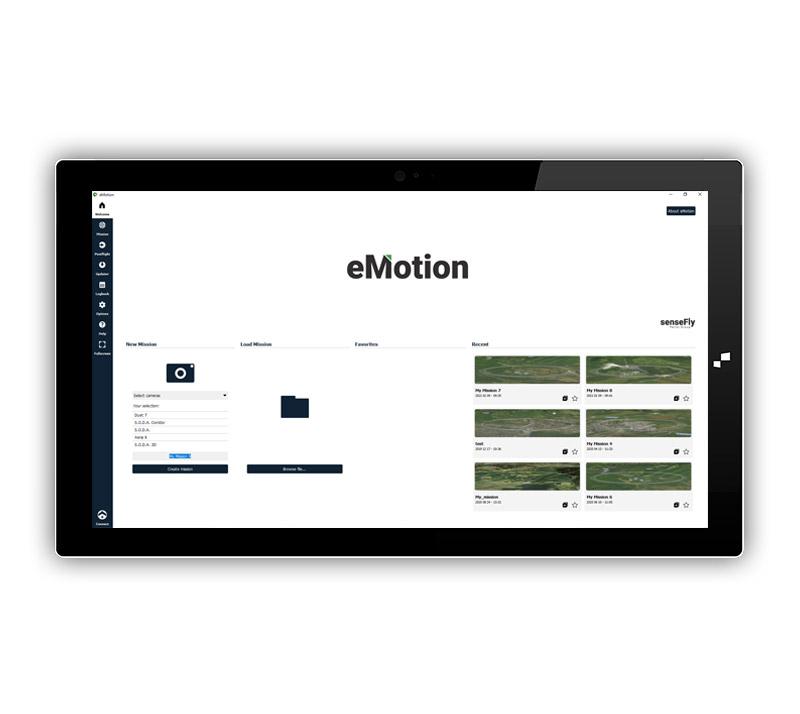 senseFly eMotion 3